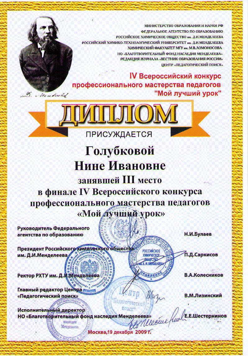 Конкурс всероссийского мастерства